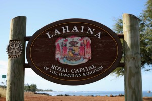 Lahaina Hawaii Sign Zip Code 96761
