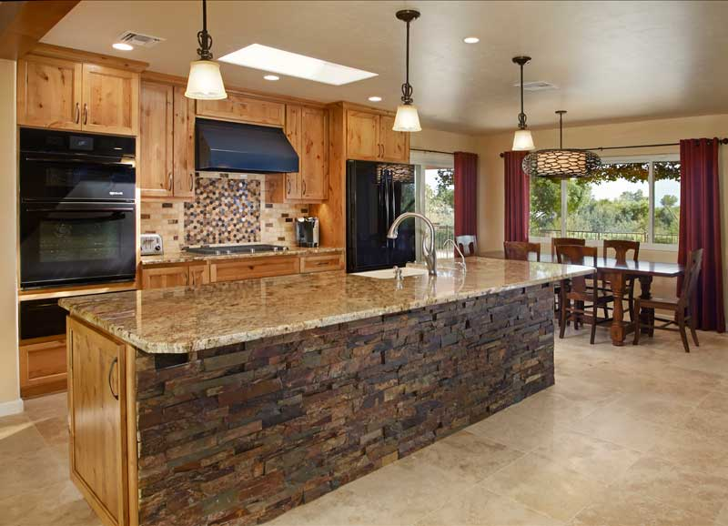 Maui general contractor mckee construction for Custom kitchen remodel