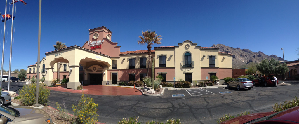 Fairfield Inn Tucson Commercial Construction Project