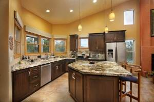 Colorful Luxury Custom Kitchen
