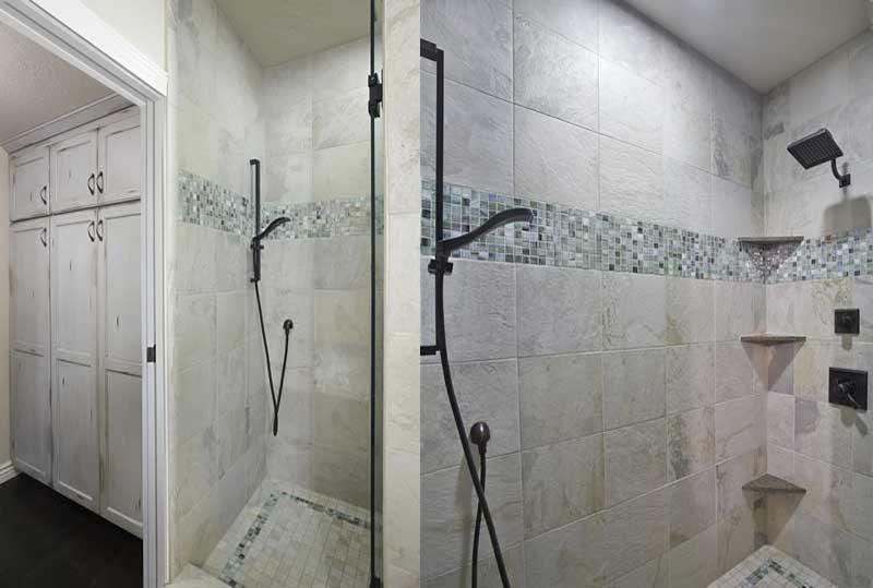 Carpenter Residence Master Bathroom Reconfiguration Renovation
